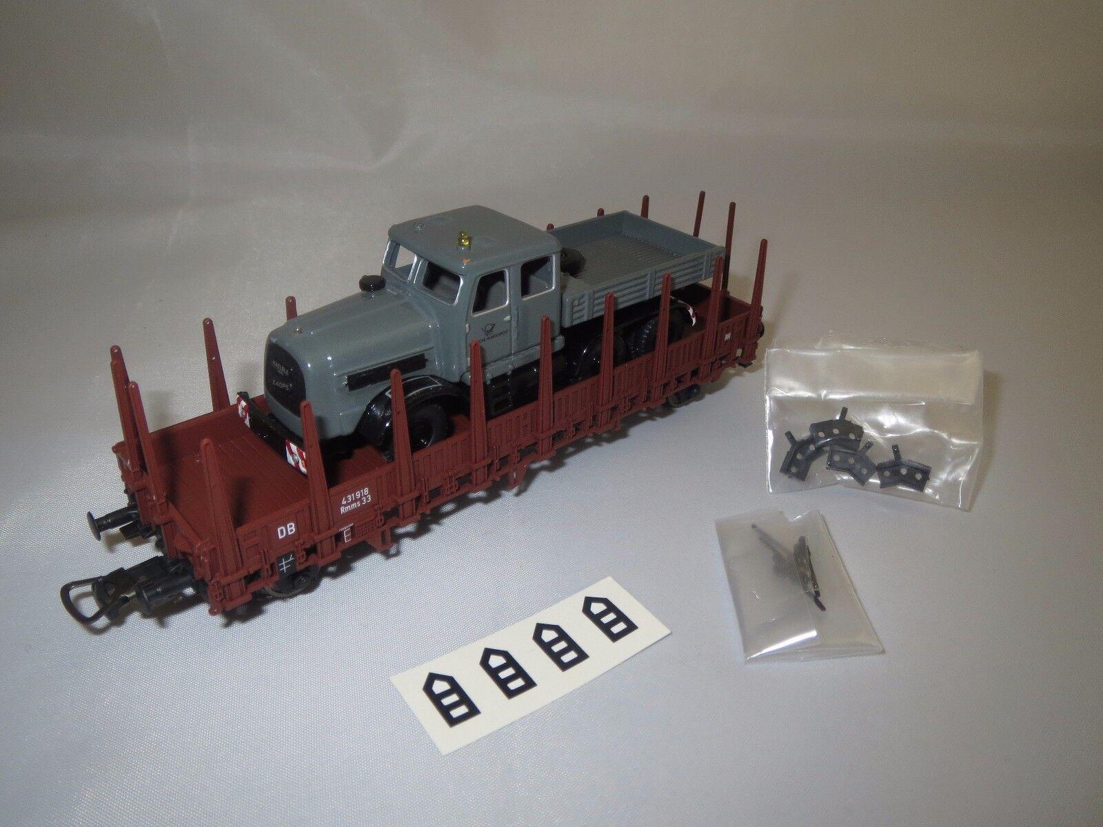 Bouèbe 60002 Kaelble KDV avec wagon de PIKO  Deutsche Bundespost  1 87 NEUF dans sa boîte