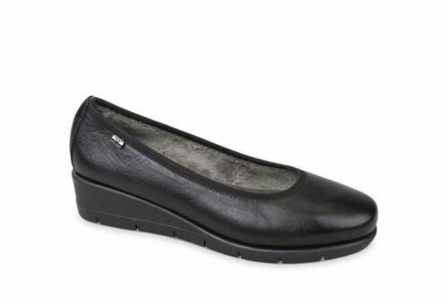AI19-20 Valleverde scarpe donna stivaletti morbida pelle 36262 nero nuova coll