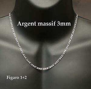collier homme 3mm