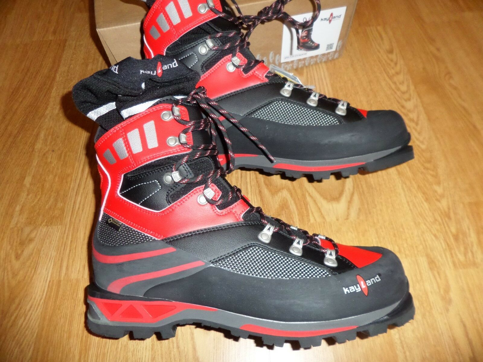 KAYLAND  APEX PLUS GORE-TEX MOUNTAINEERING BOOTS MEN'S 11 M FIT 10.5 RETAIL  390  after-sale protection