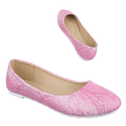 Farbige Slippers Klassische Ballerinas Damenschuhe 4999 Ital-design
