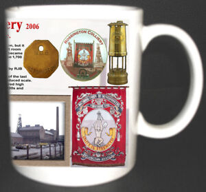 ROSSINGTON-MAIN-COLLIERY-COAL-MINE-MUG-LIMITED-EDITION-GIFT-MINERS-YORKSHIRE-PIT