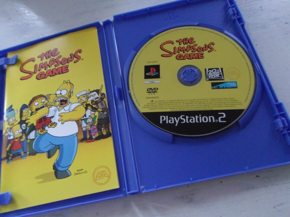 THE SIMPSONS GAME, PS2