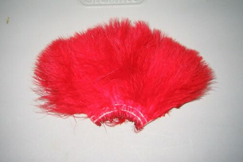 1//2 oz Strung Turkey Blood Quill Marabou feathers/>12 Color Choices/>COMBINE SHIP
