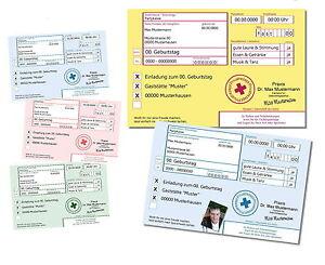 30x REZEPT Einladungskarten für Geburtstag / Karte Einladung Feier ...