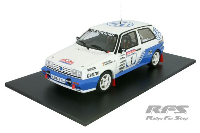1:18 Volkswagen VW Golf II G60 Rally - Weber / Hiemer - Hunsrück Rallye 1991