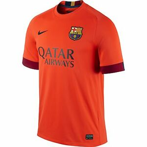 new style 9bcaf 2958e Details about Nike FC Barcelona 2014-2015 BARCA Away Shirt Jersey SIZE S  (ADULTS)