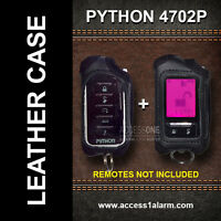 Python 4702p Protective Leather Remote Control Case For Both Remote Controls