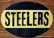 Pittsburgh Steelers Car Magnet  Football Sports Decor  Made In The USA