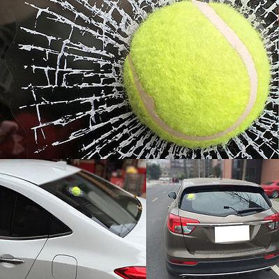 Simulation 3D Ball Hits Car Stickers Broken Window Baseball Sticker Decals Crack