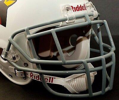 Schutt Super Pro EGOP Adult Football Helmet Facemask WHITE
