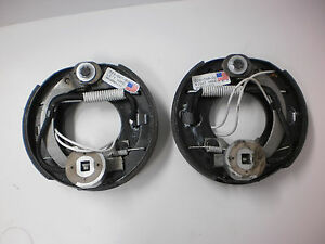2-Complete-Electric-Trailer-Axle-Brake-7-Backing-Plates-2000