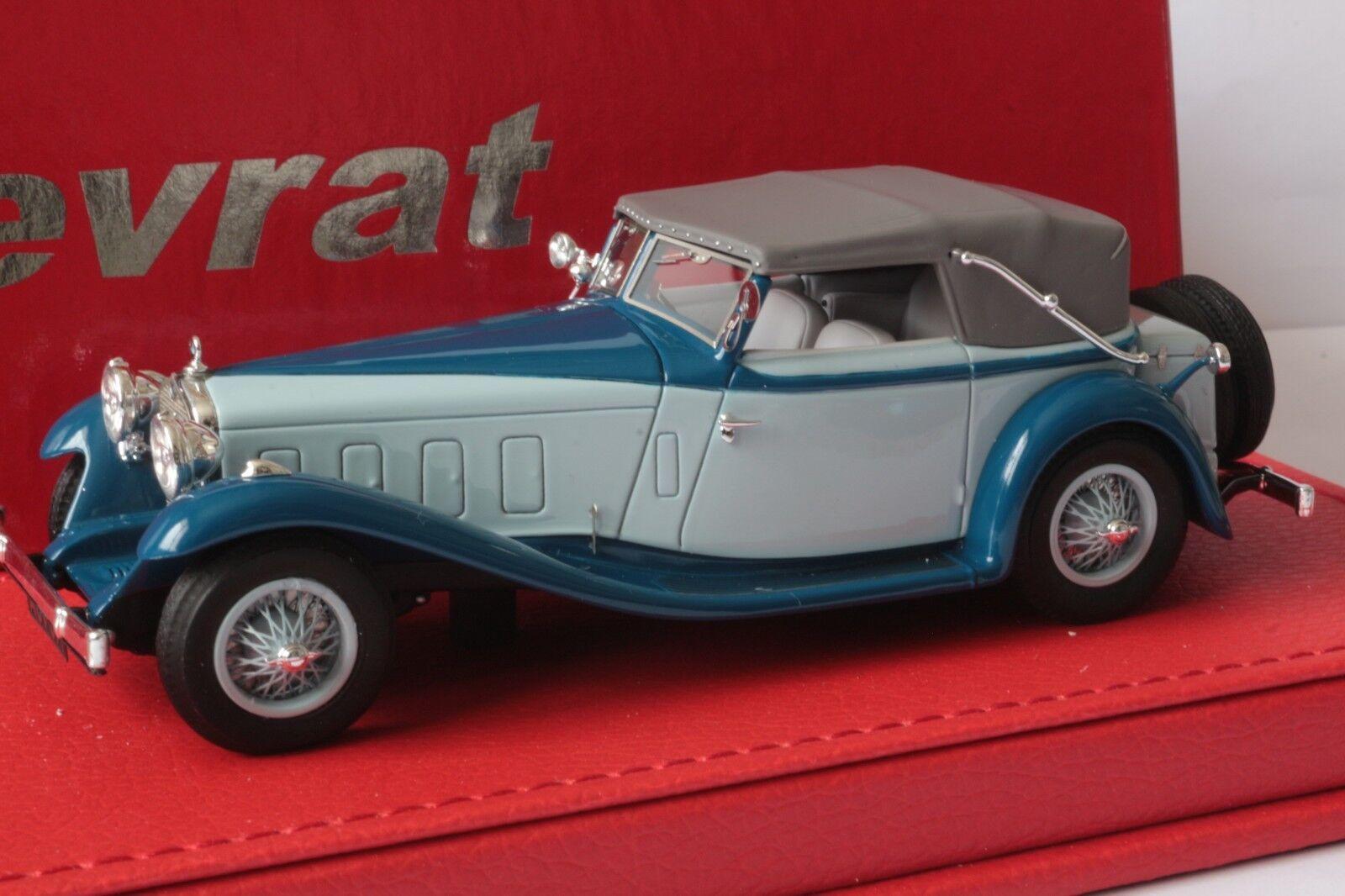 DELAGE D8 S cabriolet Fernandes et Darrin 1933   EVRAT limit. 60 ex EVR208