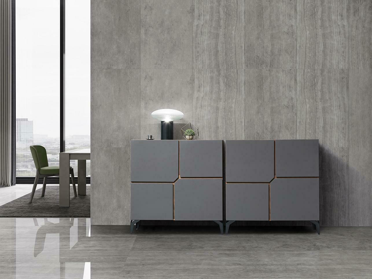 XXL doble 2er cómoda hormigón Design comodas side Board low aparador moderna nuevo