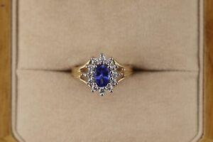 Ladies-Tanzanite-Diamond-Ring