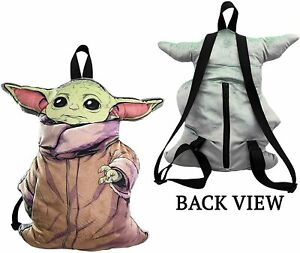 "The Child ""Baby Yoda"" Plush 16in Backpack  – Star Wars: The Mandalorian"