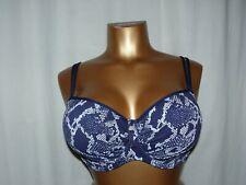 Prima DONNA SWIM vario Bikini-Top Pop 4005014 Blue Eclipse BLU PUNTINI NUOVO