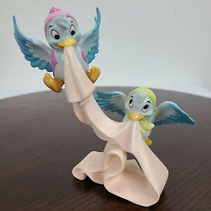"""WDCC Cinderella Birds We'll Tie A Sash Around It Figurine Walt Disney Retired 6"""""""