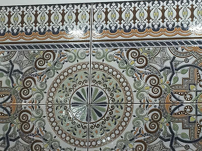 Moroccan tiles Turkish FEATURE WALL Tile  kitchen bathroom hall zellige style 2