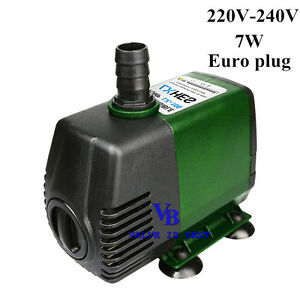 198-GPH-220V-Submersible-Pump-Aquarium-Pond-Powerhead-Fountain-Water-Hydroponic