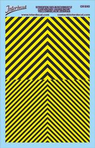 verschiedene Breite Decal Naßschieber 1//87,1//43 Zierstreifen schwarz,11cm lang
