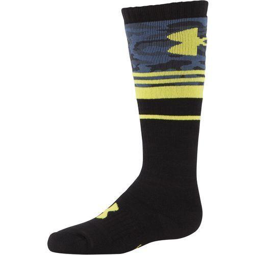 NWT Under Armour  U6464S1 Youth Boys Mountain Big Camo OTC Gold Gear Socks $18