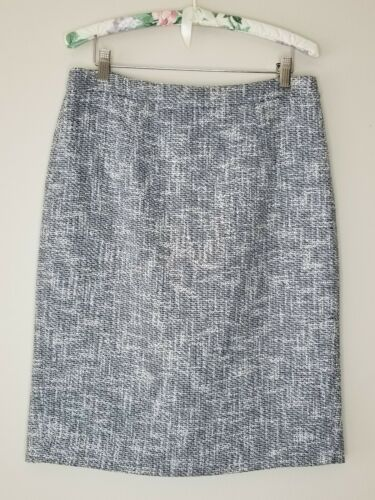 Tory Burch Women's Pencil Skirt Boucle Tweed Cotto