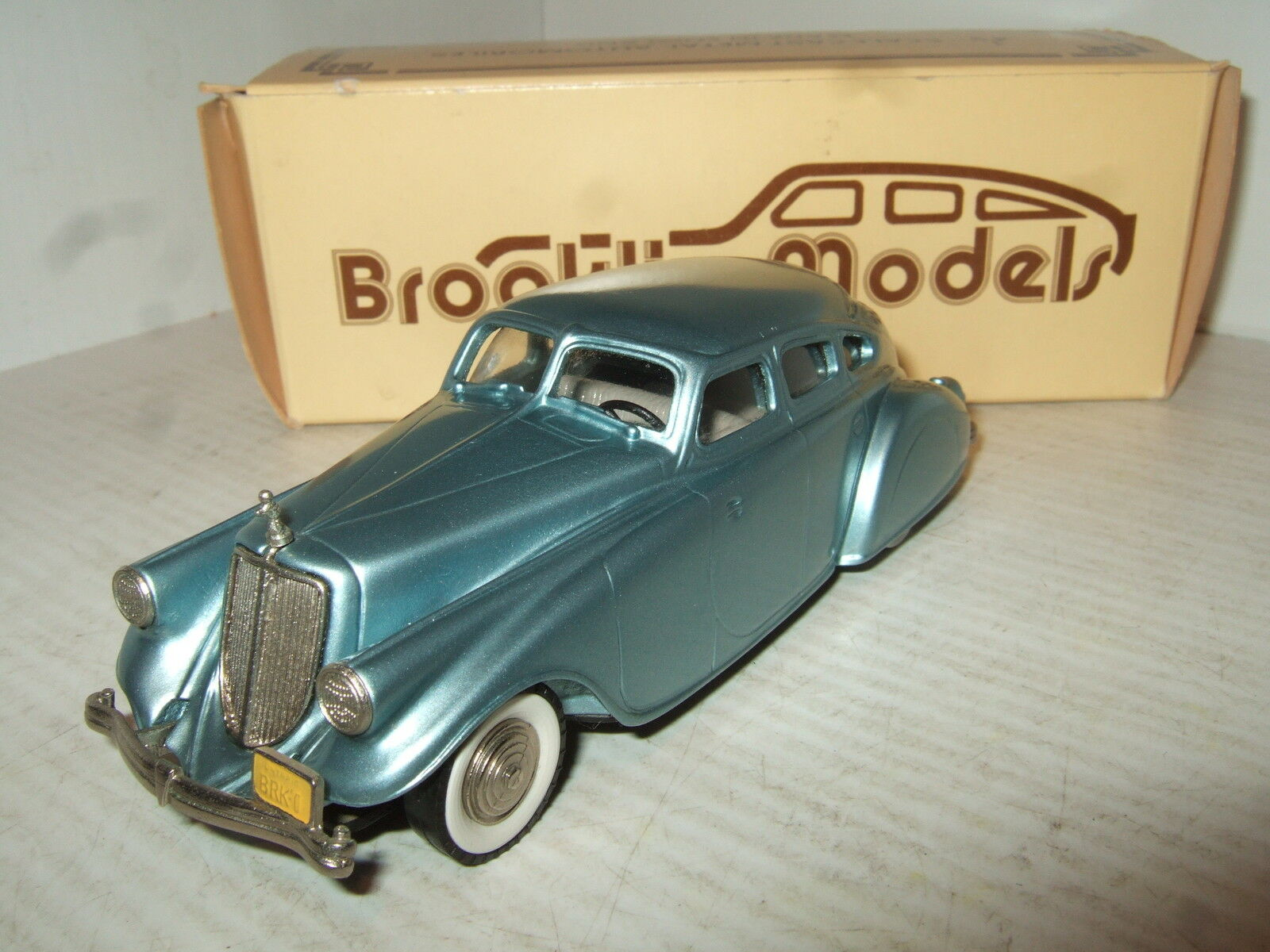 Brooklin BRK 1 1933 Pierce Arrow, flecha de plata en escala 1 43.
