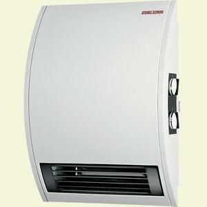 wall mounted timer electric fan heater office bathroom