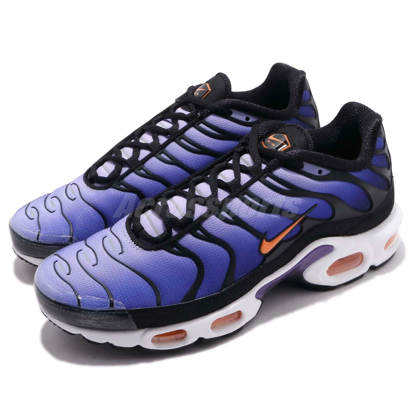 47f76db305 Nike Air Max Plus OG Voltage Purple Black orange Mens Running shoes  BQ4629-002