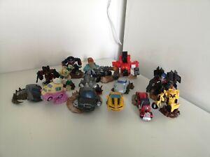 Transformers-optimus-prime-Figure-Hasbro-Inc-2008-desktop-car-bundle