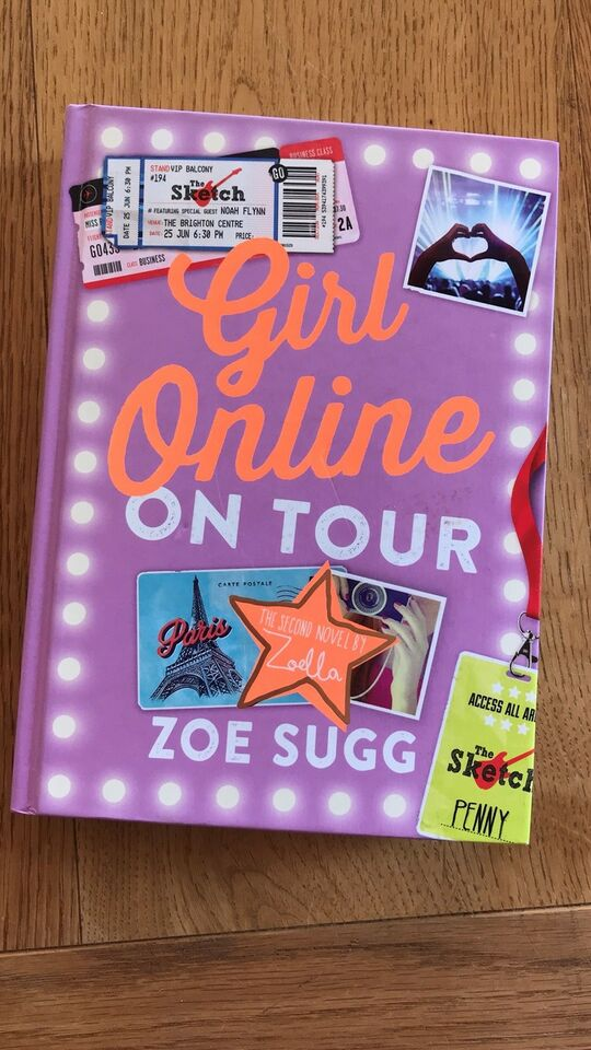 Girl Online on Tour, Zoe Sugg, genre: ungdom