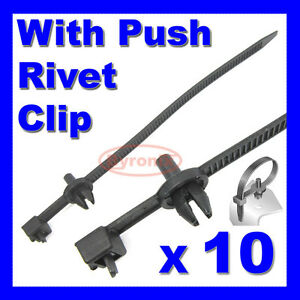cable ties kit car boat trailer zip tie wrap push rivet clip image is loading cable ties kit car boat trailer zip tie