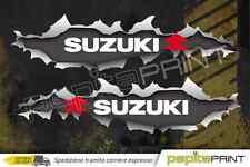 Kit adesivi Suzuki vitara samurai jimny squarcio strappo santana off road 25x6.5