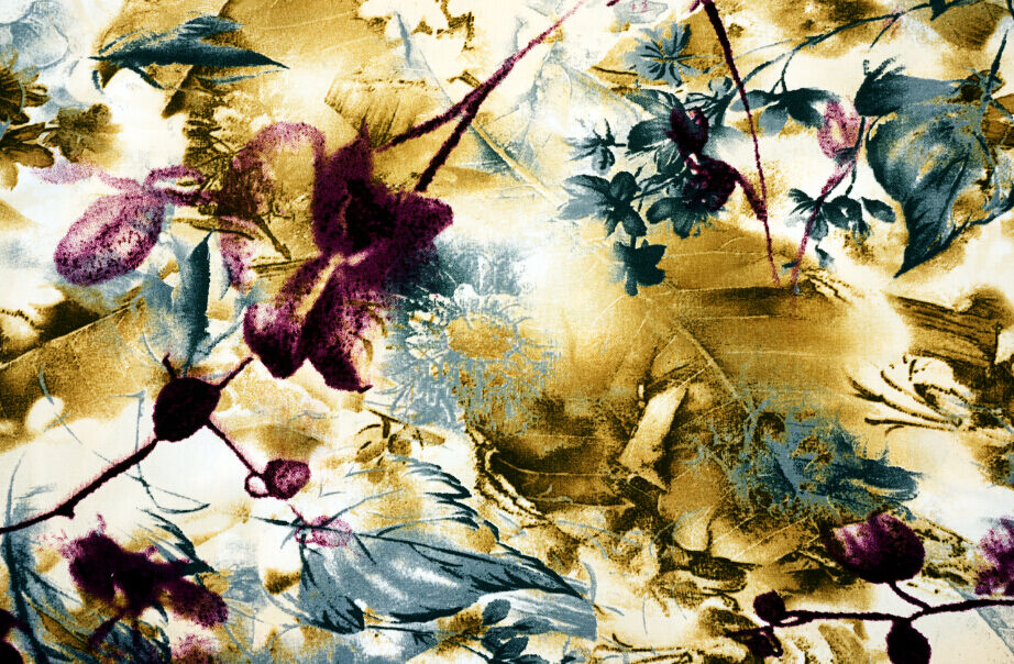 3D Messy Flowers Leaves Wall Paper Wall Print Decal Wall Deco Wall Indoor Murals