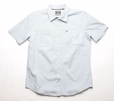 New Black Hurley One and Only 3.0 LS Button Down Shirt