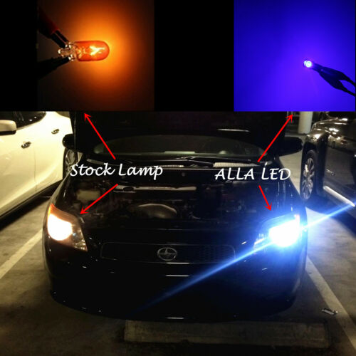 Sky Blue LED Climate Control//Cooler Control Switch Light Bulb for Toyota 4Runner