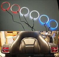 Red Angel Eyes Led Speaker Lights Goldwing Gl1800 Fits 4 & 5 Speakers 45-1849r