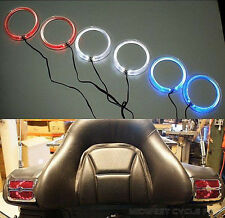 "Red Angel Eyes LED Speaker Lights Goldwing GL1800 fits 4"" & 5"" Speakers 45-1849R"