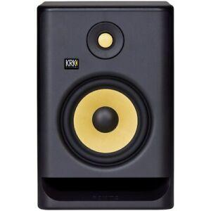 KRK ROKIT RP7 G4 7 Bi-Amped Studio Monitor DSP Speakers White Noise Edition 2