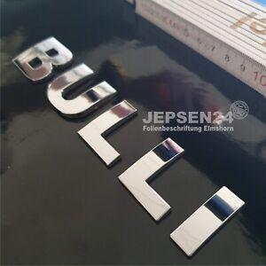 3D-Chrom-Schriftzug-BULLI-Aufkleber-15x3cm-VW-Bus-T1-T2-T3-T4-T5-T6-T7-Multivan