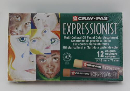 set 12 Sakura Cray-Pas Expressionist Oil Pastels