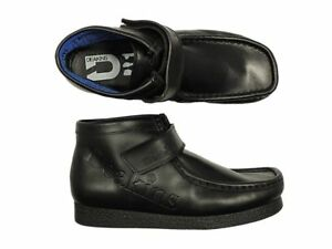 BOYS-NEW-DEAKINS-SCHOOL-CASUAL-LEATHER-BOOTS-SHOES-FOOTWEAR-IN-BLACK-COLOUR