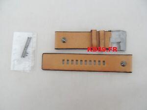 Image is loading Genuine-ORIGINAL-DIESEL-DZ-7269-BROWN-leather-strap- 2317bd4a09e