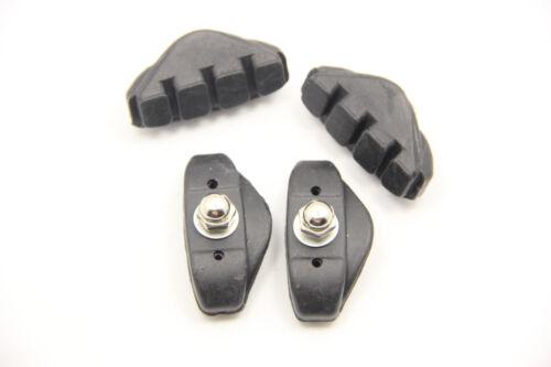 Bicycle Bike Road Bike 45mm Brake Shoes Pads 2 Set 4pc Caliper