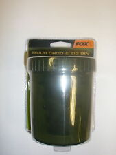 Fox Multi Chod and Zig Bin inc. 18 pins Carp fishing tackle