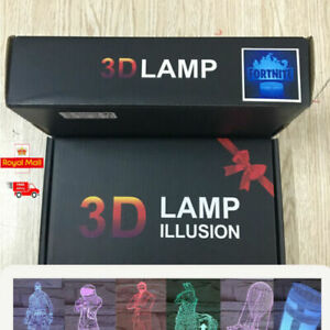 3D-Lamp-LED-Night-Light-7-Color-USB-Touch-Table-Desk-Lamp-Kid-Gift-Nite-UK