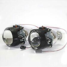 Pair 2.5'' Mini Bi-Xenon HID Projector Kit Lens Car Headlights Shroud H4 H7 USA