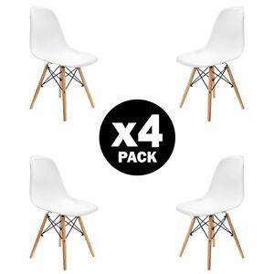 Pack-4-sillas-de-comedor-Blanca-silla-diseno-nordico-retro-estilo