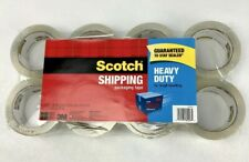 Scotch Heavy Duty Shipping Packaging Tape 188 Inches X 546 Yards 8 Rolls